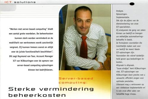 Nieuwsbrief KCBeuningen Xerox - Interview Raymond van Toor remote werken