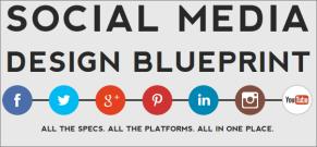 Social Media Image Size Guide voor afmetingen van afbeeldingen