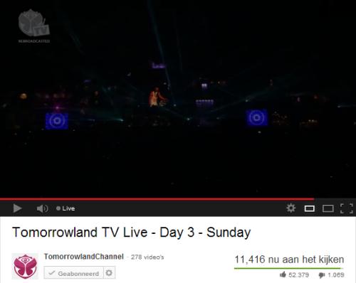 Tomorrowland - participerende content