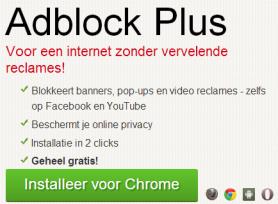 Adblock Plus blokkeert videoreclames op Facebook