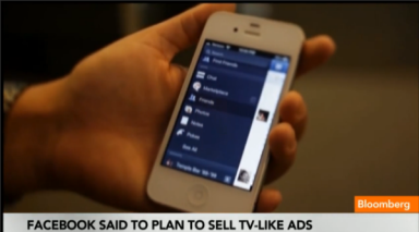 Facebook plant advertenties via videocommercial