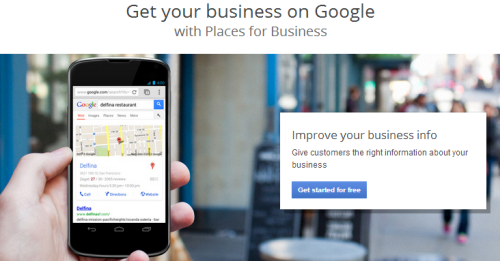 Google Places for Business instellen