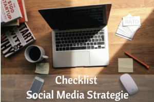 Social media strategie checklist