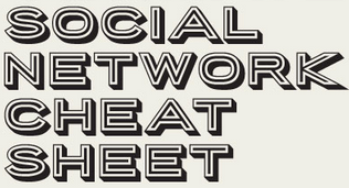 The Ultimate Social Media Cheat Sheet 2