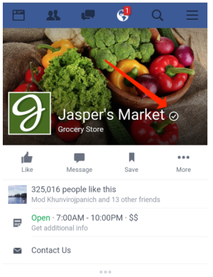 Facebook Verified Local Pages