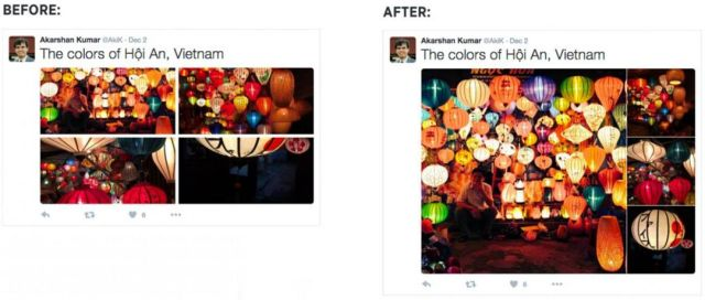Nieuwe weergave Twitter foto's in nieuwsfeed II